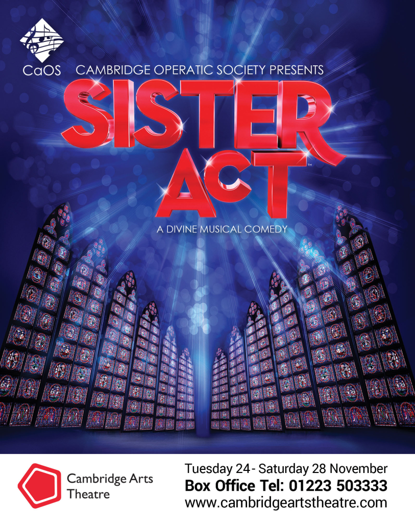 Sister Act Quarter Page Advert_web